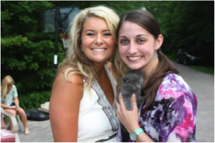 Carly and our new kitten